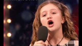 CHLOE HICKINBOTTOM(10) WOWS AUDIENCE ON BRITAIN'S GOT TALENT