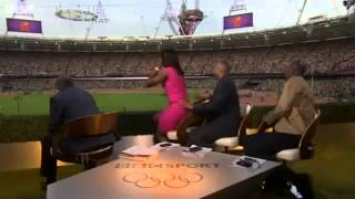 Mo Farah Winning Gold Medal In Mens 5000m BBC Commentators And Pundits Going Mental HD