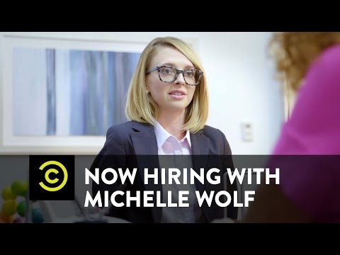 Now Hiring with Michelle Wolf - Monday (видео)