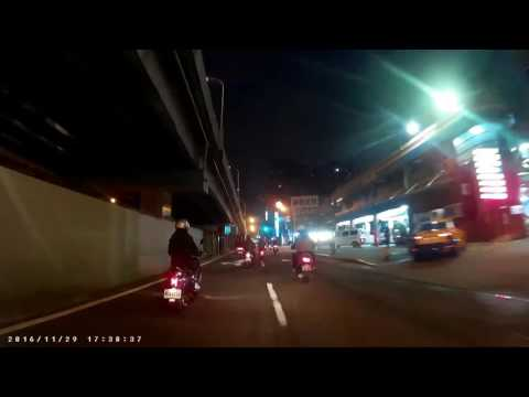 民權西路(加油站)與蘭州街交叉口車禍