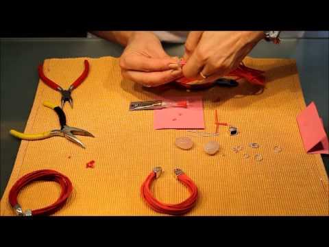 Kalait - Jak zrobić bransoletkę i naszyjnik na rzemieniach