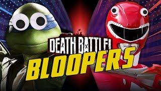 Leonardo VS Red Ranger Jason BLOOPERS! by ScrewAttack
