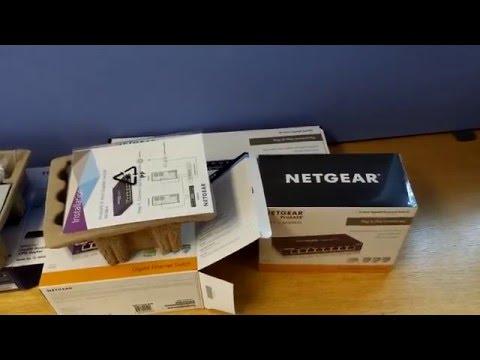 Unboxing Network Devices Netgear GS108, GS116 & TP-Link TL-R600VPN