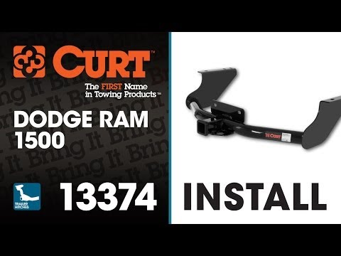 Trailer Hitch Install: CURT 13374 on Dodge Ram 1500