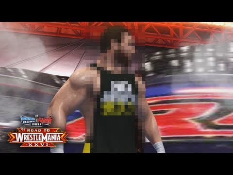 """WWE Smackdown vs Raw 2011 - """"MAX HAS ARRIVED!! VS UNDERTAKER!!"""" (Road To WrestleMania Ep 1)"""