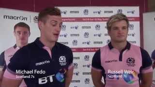 Scotland 7s Reveal New Kit For HSBC Sevens World Series