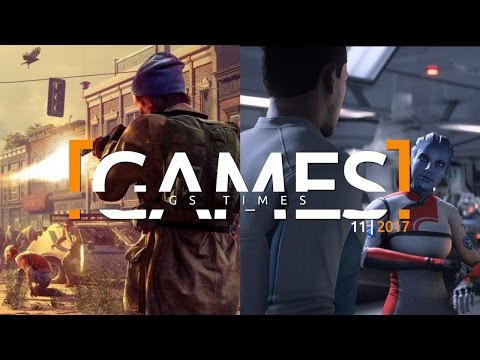 GS Times [GAMES] 11 (2017). State of Decay 2, CoD Movie, ME: Andromeda   Главные новости игр