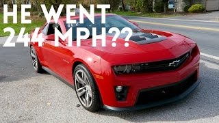 I drove a 700whp Camaro ZL1... by Vehicle Virgins