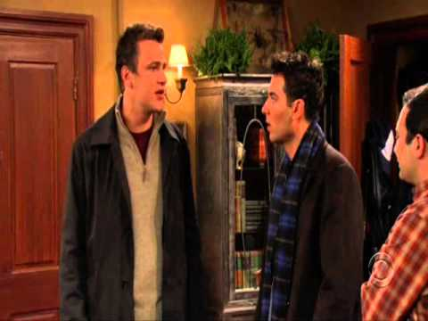 Take it from uncle Marshall (How I Met Your Mother Season 1 Episode 12 : The Wedding)