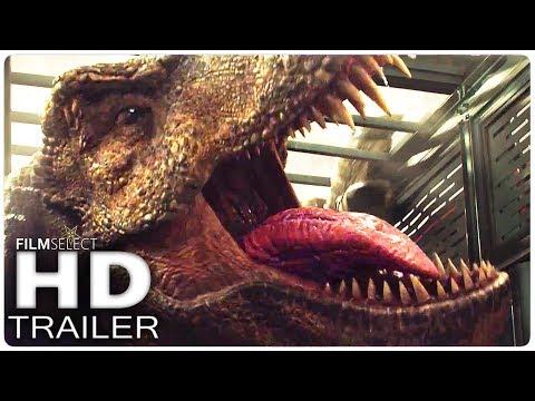 JURASSIC WORLD 2: Trailer 3 Teaser (2018) (видео)