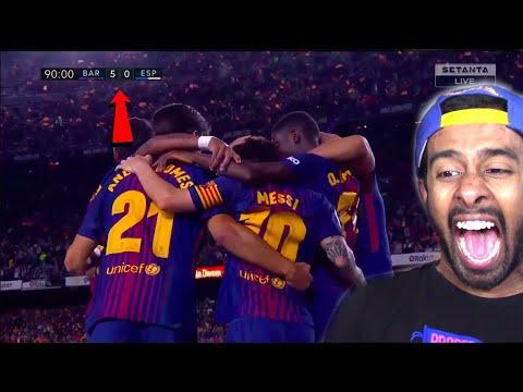 Barcelona vs Espanyol 5-0 - Highlights & Goals - 09 September 2017(REACTION)