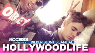 Justin Bieber's Marijuana Scandal With Lil Twist - Justin Answers Fans
