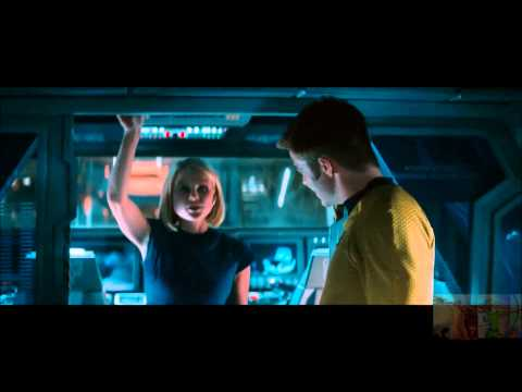 Star Trek Into Darkness - McCoy Objects to Opening Torpedo, Kirk/Carol Moment