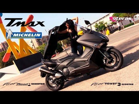 Michelin Pilot Power 3 y Road 4 para el Yamaha Tmax