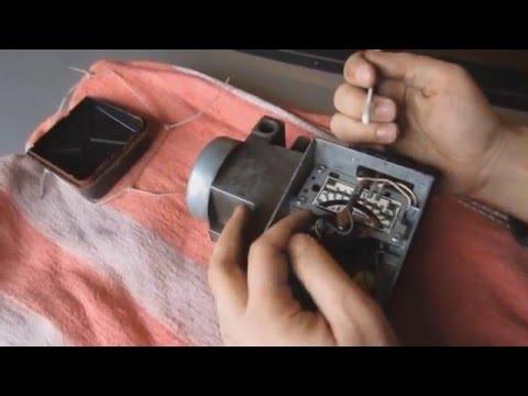 регулировка расходомера воздуха на форд сиерра