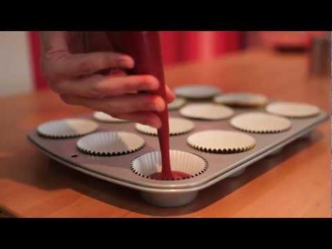 The Red Velvet cupcakes