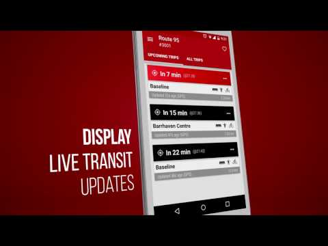 Video of Ottawa Transit