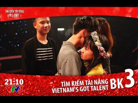 Vietnam's Got Talent 2016 - BÁN KẾT 3 - TẬP 11 Full (25/03/2016)
