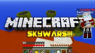 Minecraft SkyWars -  THE DEADLY DUO! w/Nooch&Woofless