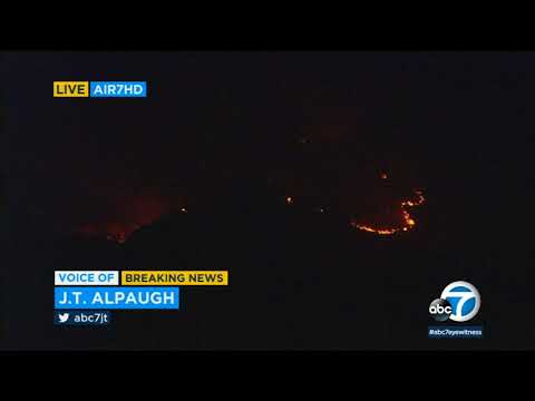 Thomas Fire chars 90,000 acres in Ventura County | ABC7