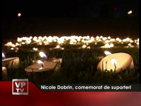 Nicolae Dobrin, comemorat de suporteri