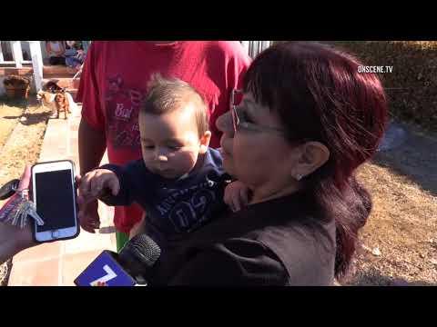 Chula Vista: House Fire Displaces 8 People 12292017