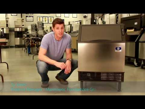 How to Clean an Ice Machine | Manitowoc UY-0140A NEO Undercounter Ice Machine
