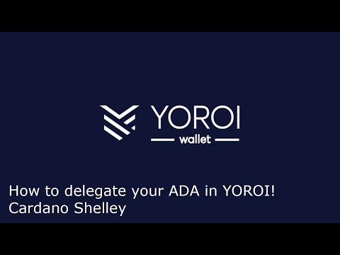 How to delegate(stake) your ADA in Cardano's Yoroi to earn rewards!