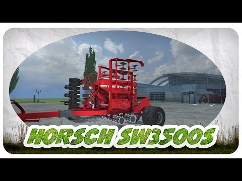 Horsch SW3500S Pronto 6AS Maistro 8RC v6.0 MR