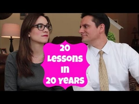20 Lessons In 20 Years Of Marriage (Part 1)