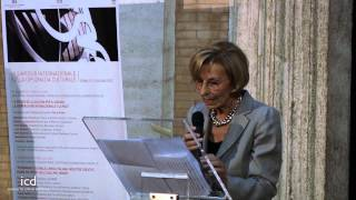 Emma Bonino, Minister of Foreign Affairs of Italy