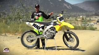 10. Racer X Films: Dialed In, Suzuki RM-Z450