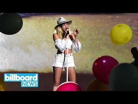 Miley Cyrus, Celine Dion & BTS Crushed Twitter During 2017 Billboard Music Awards  Billboard News