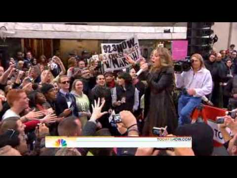Mariah Carey - Make It Happen ( Live Today Show 10/02/2009 )