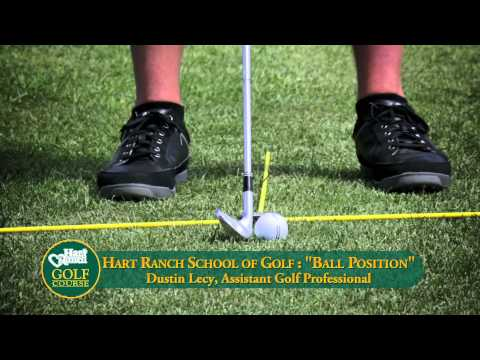 Hart Ranch School of Golf: Ball Position