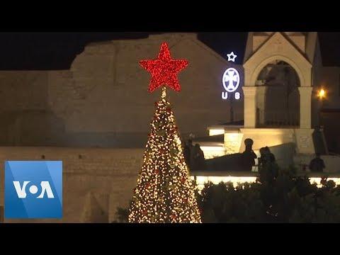 Bethlehem Christmas Tree Lighting Draws Hundreds
