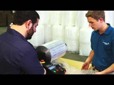 On Demand Bubblewrap | NewAir IB | Sealed Air