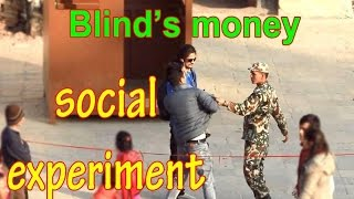 Video Nepali prank :- BLIND 'S Money (social experiment ) MP3, 3GP, MP4, WEBM, AVI, FLV Desember 2018