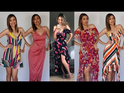 Happy quotes - SUMMER DRESS HAUL + TRY ON  Happy 5th Anniversary Celebration EXTRAVAGANZA!!!