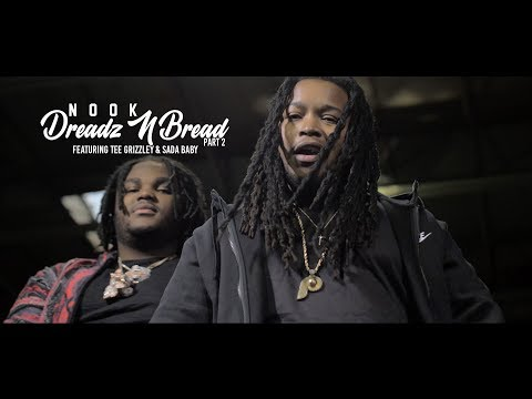 "Nook ""Dreadz N Bread"" Remix Ft. Tee Grizzley X Sadababy [Official Music Video]"