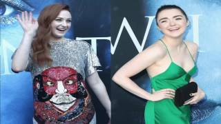 """Game of Thrones"" co-stars Sophie Turner and Maisie Williams have the best off-screen friendship (complete with its own hashtag, #Mophie)."