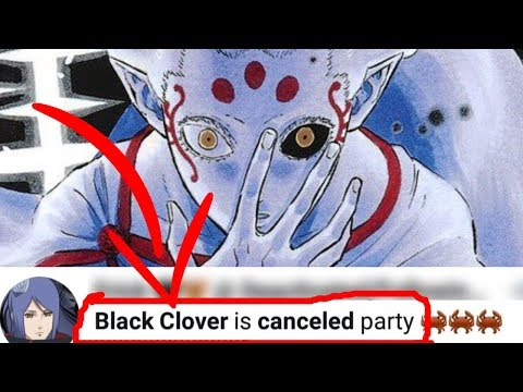 """The """"BLACK CLOVER is CANCELED Party"""" Aftermath..."""