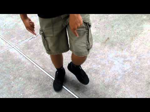 T Step - A tutorial on how to T-Step, the basic move in shuffling. Instructed by NoodleMan and Shank! Got Questions? Please feel free to leave a comment below or e-ma...