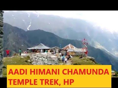 Himani Chamunda Trek from Bir!HimachalPradesh! The Original place of Chamunda Devi Temple!Adventure!