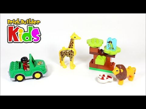 Vidéo LEGO Duplo 10802 : Les animaux de la savane