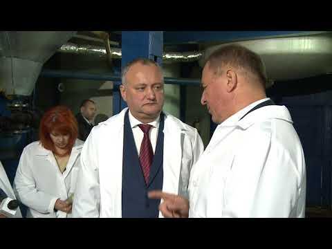 "Igor Dodon a vizitat întreprinderea SRL ""Danova-Prim"""