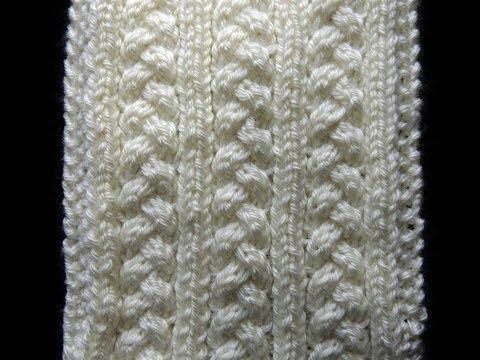 uno splendido motivo lavorato a maglia