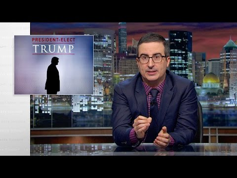 John Oliver on Donald Trump Becoming the Next US