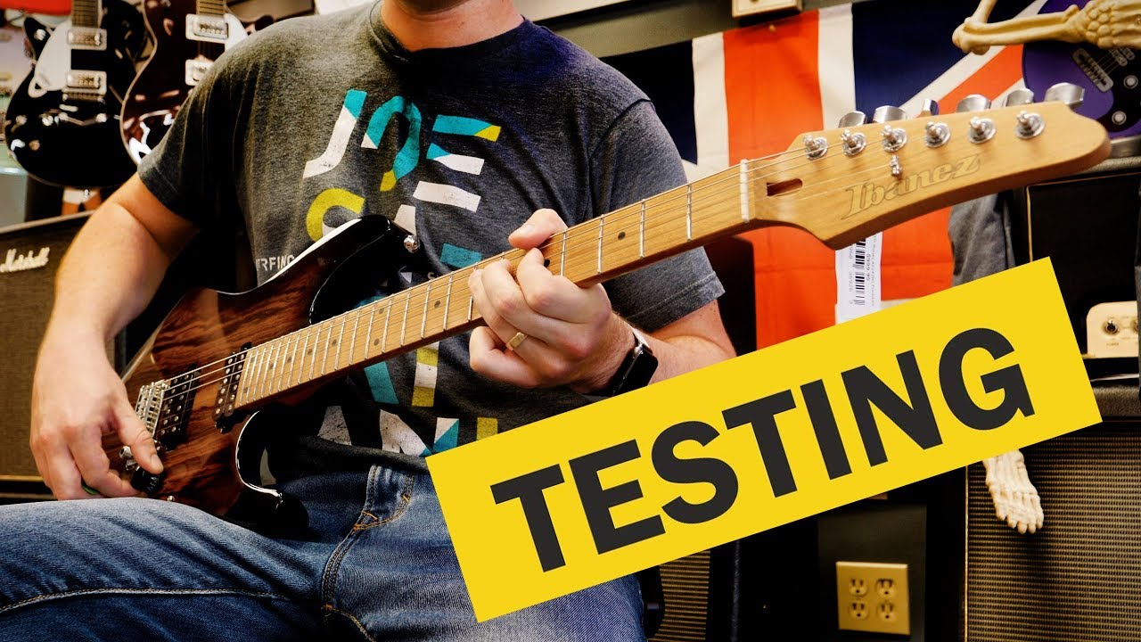 How to Try Out a Guitar in a Guitar Store