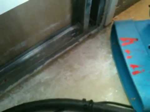 HEPA Vacuum Drywall and Insulation Dust on a Water Damage Cleanup